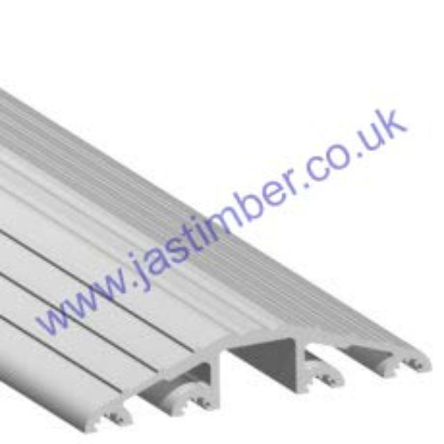 "Industrial Raised Ramp - Threshold 20mm [3/4""] 04CP053 Aluminium Stormguard"
