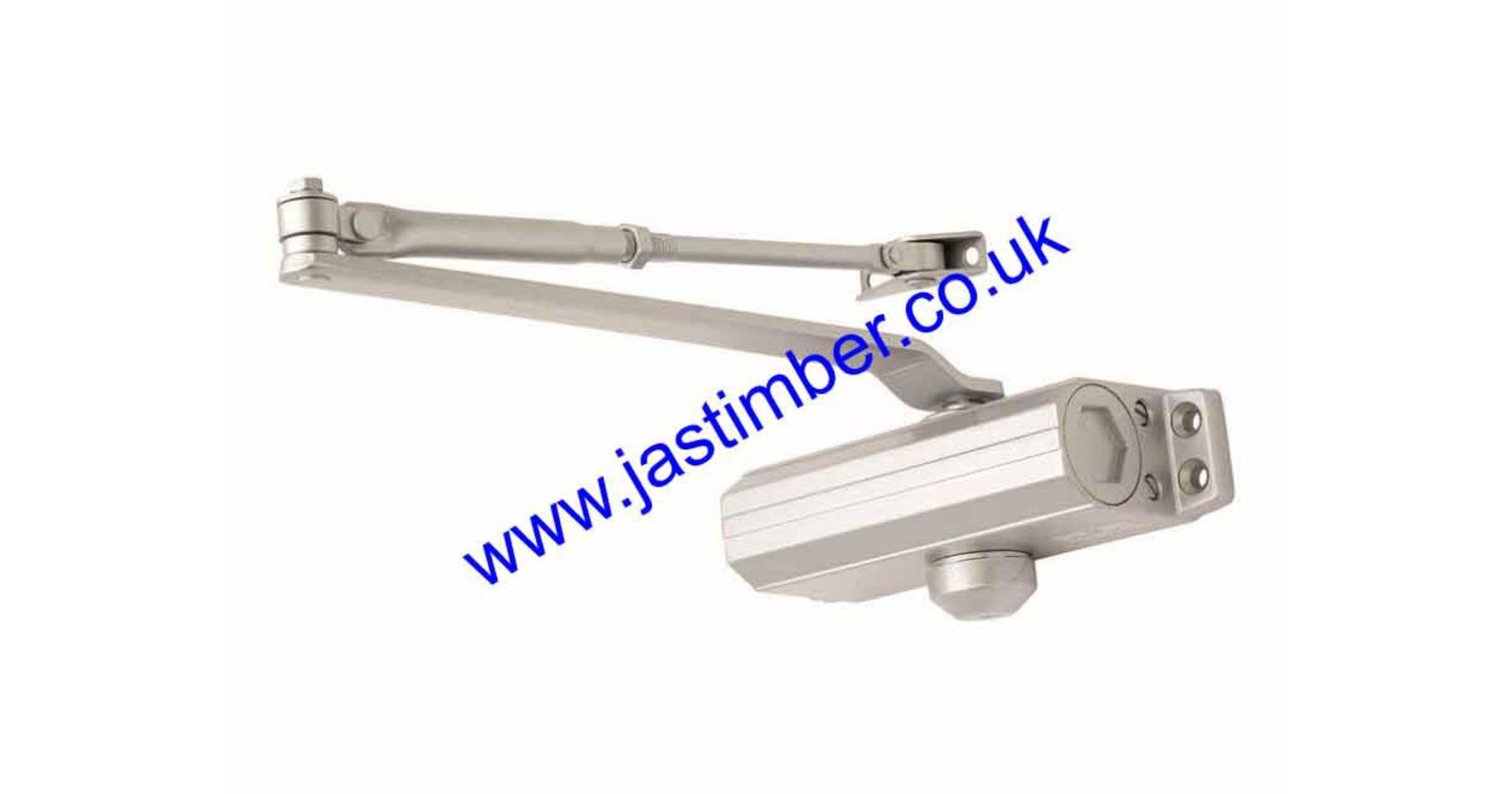Door Closer Size3 Overhead E*S CDG003-SV Silver-Grey