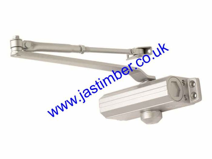 EuroSpec CDG003 Size3 Silver Door Closer