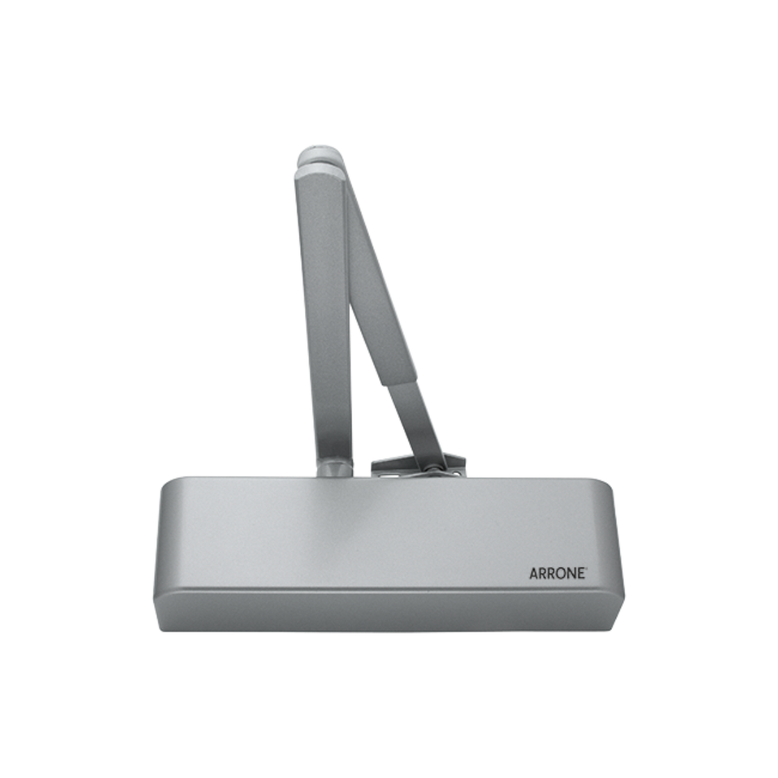 Door Closer Size2 - 4 Overhead - Hoppe-Arrone® AR1500-SE/SE Silver/Grey