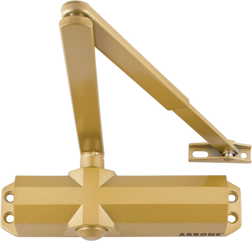 AR6800GE Hoppe® Gold Closer with Cover