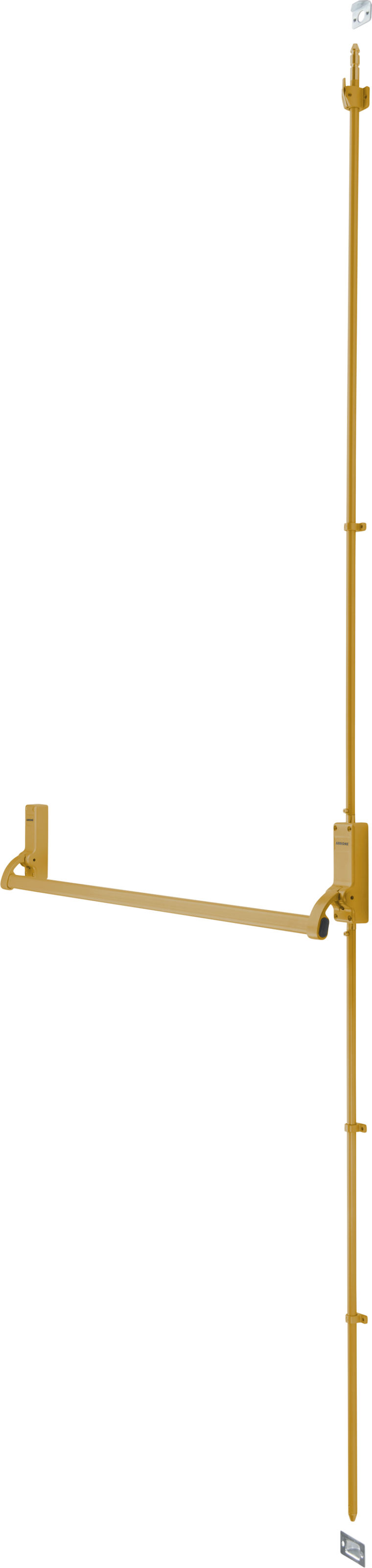 PANIC BOLT Gold for Single Exit Door up to 1000mm - Hoppe® AR880-GE