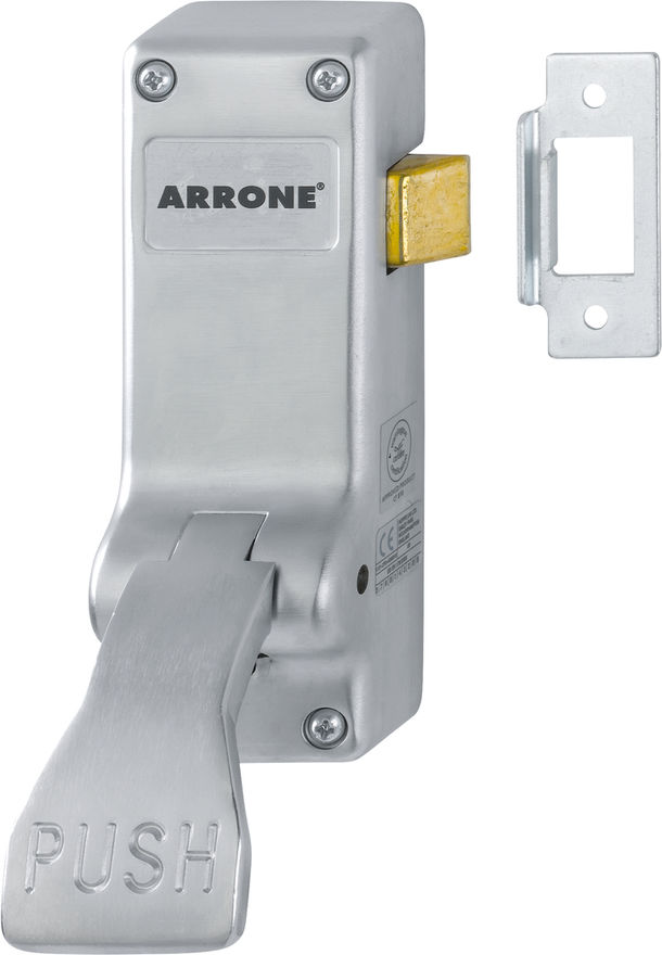 AR883-SSS Arrone® SSS Stainless Steel Panic Latch Push-Pad