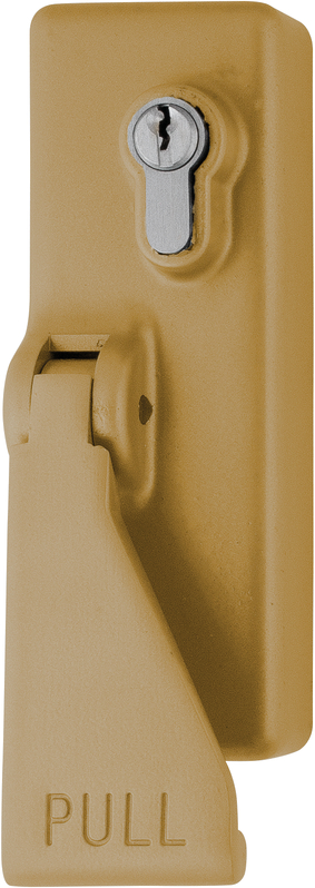 AR885-GE Arrone® Gold Eurolock Panic Push Pad