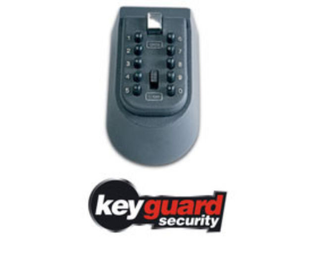 Keyguard Digital Key Safe holds 3-4 keys - Burton KG1001
