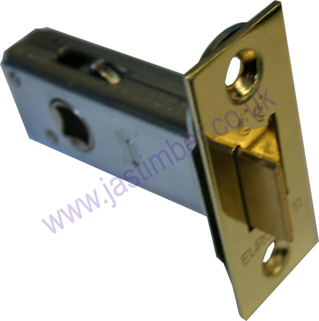"Tubular Mortice Latch : 2.5"" Extra Strong  E*S TLS5025EB+SSS"