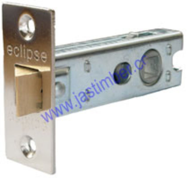 "Tubular Mortice Latch 2.5"" Frisco Eclipse 70271 NP"