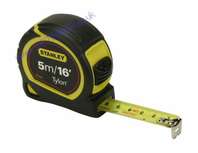 "TAPE MEASURE 5M. - 16' x 3/4"" Blade - STANLEY 30696"