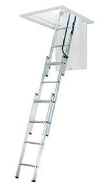 BLUE SEAL ALUMINIUM 3-SECTION EASYSTOW LOFT LADDER