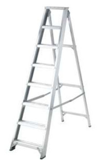 PROMASTER BUILDERS SWINGBACK ALUMINIUM STEP LADDERS