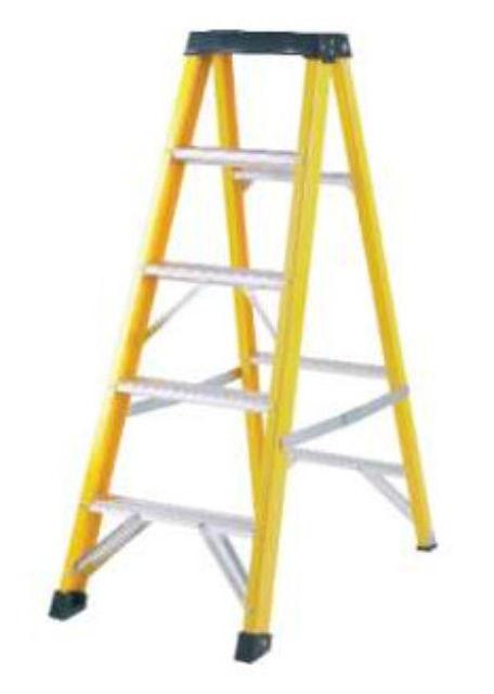 PROMASTER FIBREGLASS BUILDERS SWINGBACK STEP LADDERS