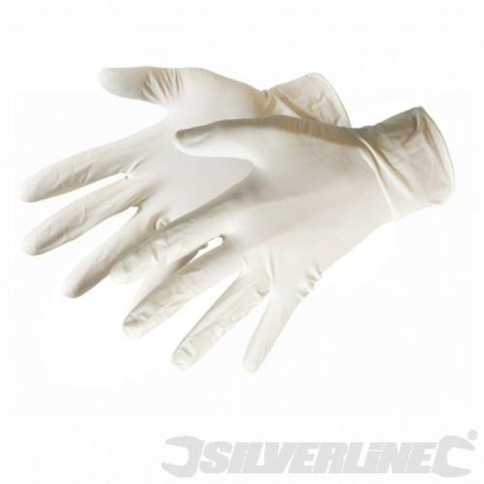 Silverline Latex Gloves 980918