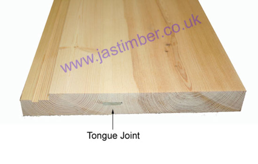 Wide Door Casing - with Tongue Joint