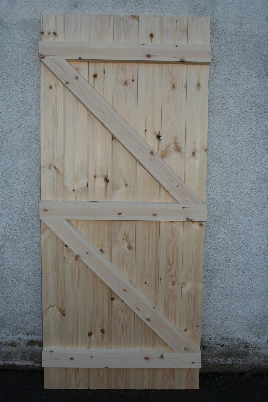 Yard Gate Made To Size Softwood