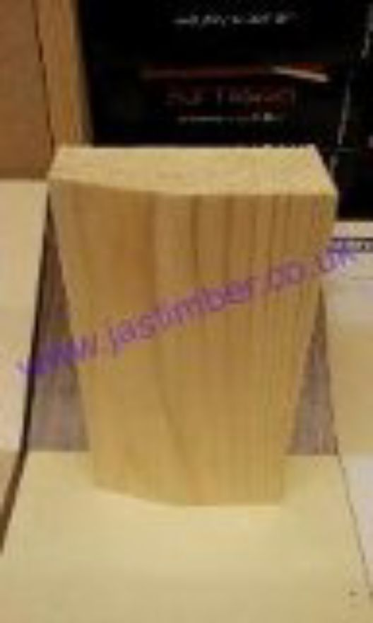 Plinth Block - for Skirting Board to Architrave Joint - Choose size options