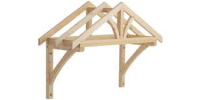 Richard Burbidge Timber Porch Canopy