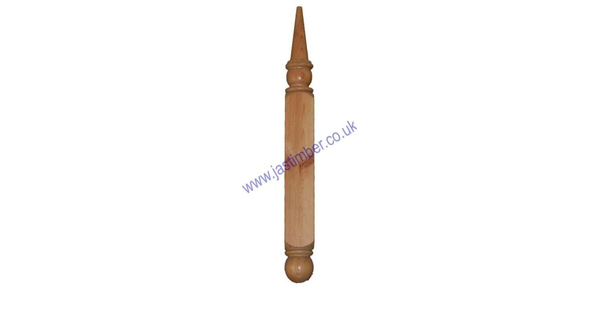 Lc200 Softwood Porch Canopy Finial