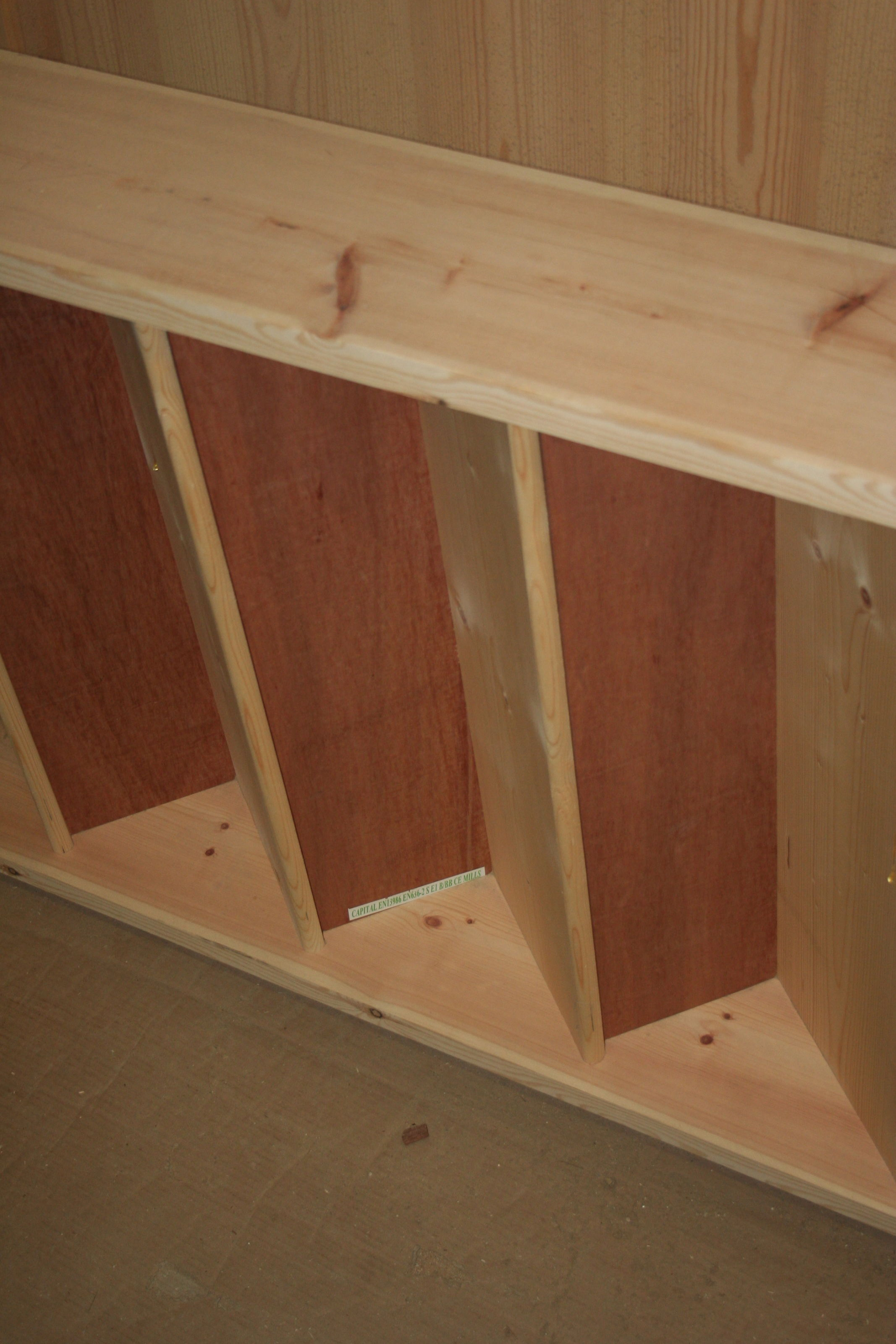 Standard Stairs in stock at JAS Timber; Image 9609