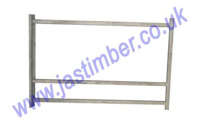 "Softwood External Door Casing with space for Side Panel 82""x48"""