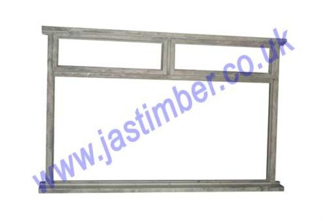 "Softwood Window Frame with 2 Openers 48""x71"" 336WV"