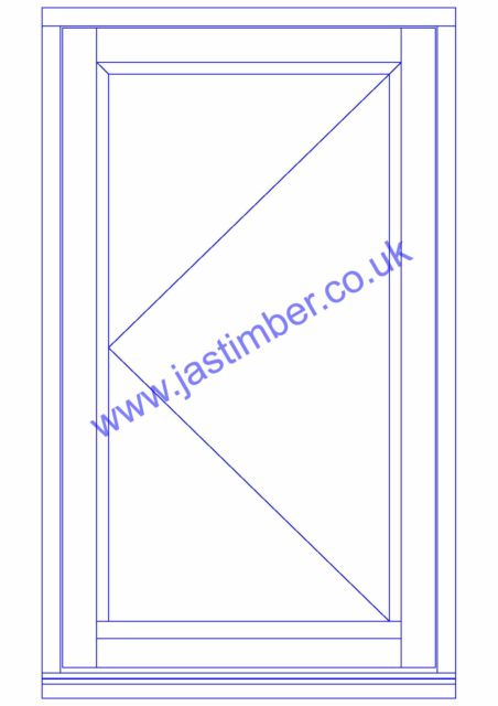XL High Performance White Timber Window - XL Joinery