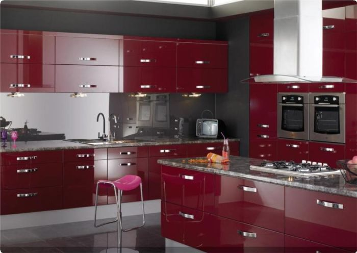 Colonial- Kitchens - Lucido Red Gloss - Group 8