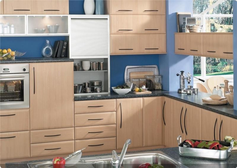 JJO Cologne Beech Colonial Kitchens