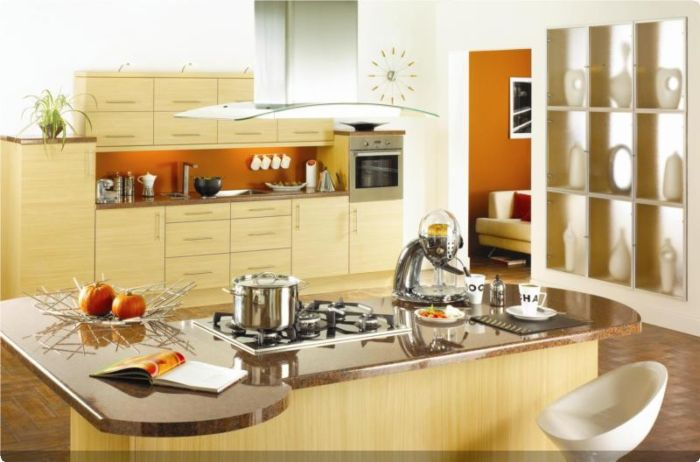 Eco Kitchens - Citra Ferrara Oak - JJO Group 1