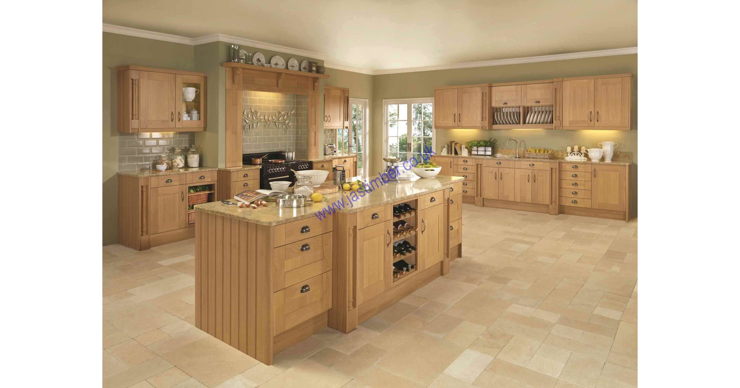 ECO Kitchens Pendle Oak