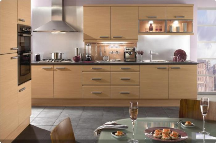 Eco Kitchens Forma Beech