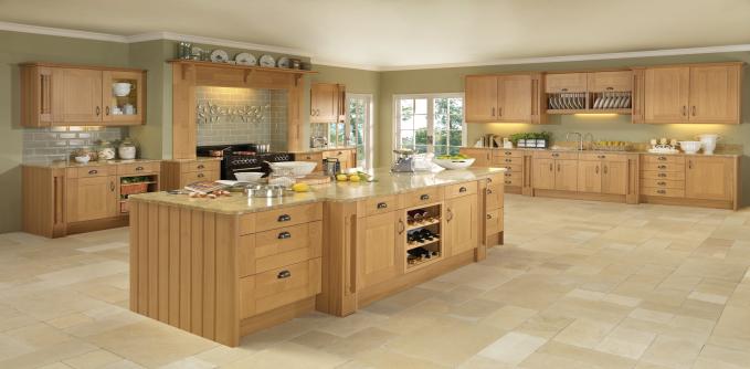 Colonial Pendle Oak Kitchens From Ju0026J Ormerod PLC