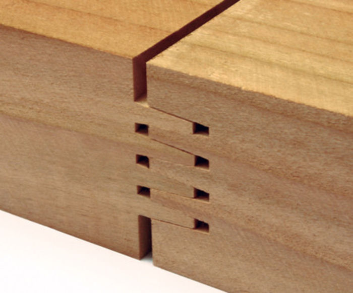 Artis RealWood Worktops finger-joint detail
