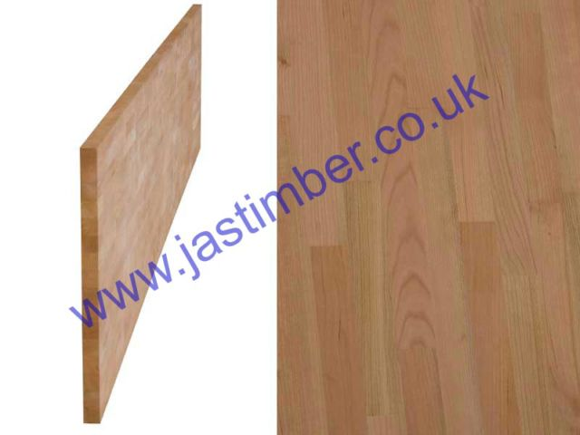 "Worktop - Cherry ""Contract"" solid timber 4200x650x40mm"