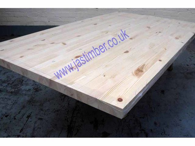 "Worktop - Knotty Pine ""Contract"" Jointed-Board 2950x650x40mm Finger-Jointed"