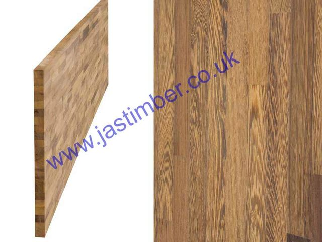 "Worktop - Wenge ""Contract"" solid timber 4200x650x40mm"