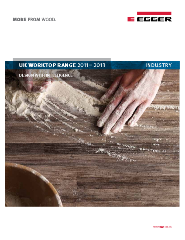 Egger Worktop Range Brochure 2011-2013 EN HEX
