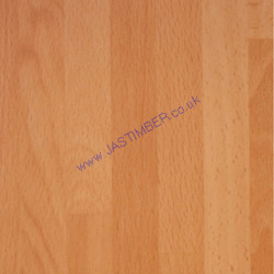 Oasis Beech Butcher-Block Kitchen Worktop - 3498 U Laminate