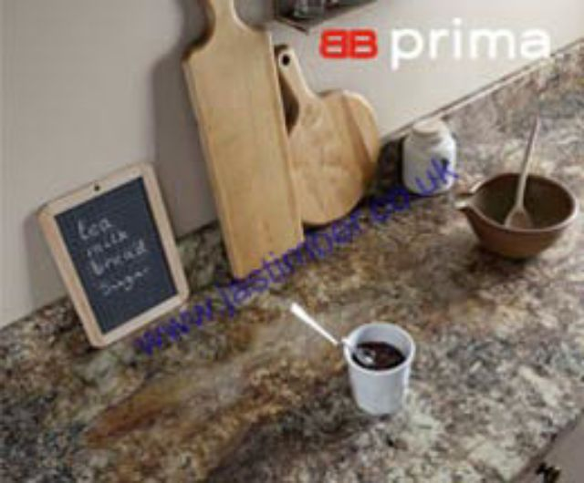 Formica Prima Crystal Textured Kitchen Worktop - 40mm