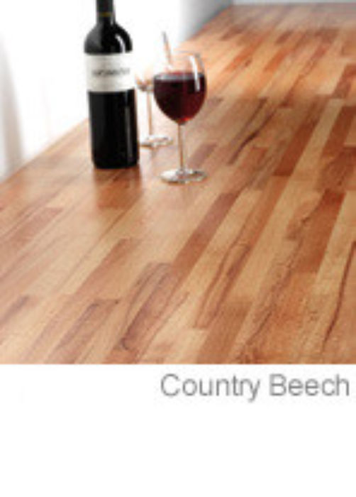 Tuscan Solid Timber Worktops Country Beech setting