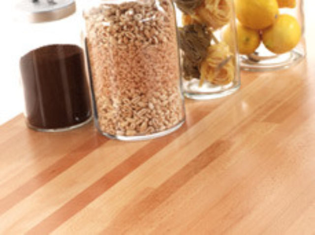WORKTOP - PRIME BEECH Solid Timber Staves - IDS Tuscan