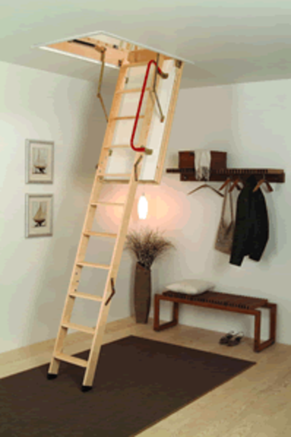 Loft Ladder Midmade Deluxe Timber