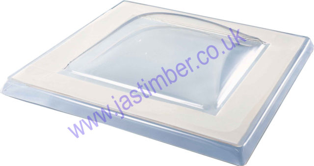 MARDOME TRADE ROOF DOME / Polycarbonate Triple Skin - CLEAR GLAZED