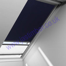 Roto Roof Window Pleated Blinds