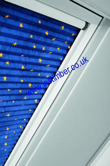 Roto Roof Window Blinds - ZFA Pleated Blind