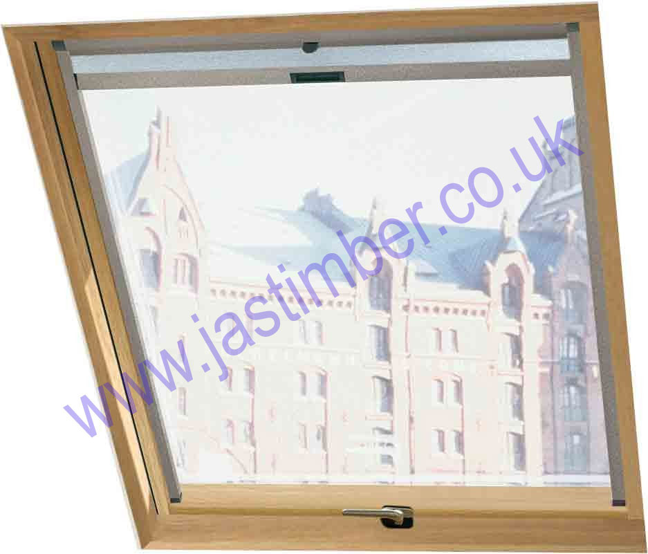 Oak R7 Roto Designo Roof Window