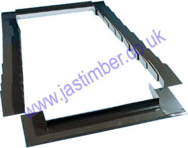 Roto Roof Window EDR SNH Tile Flashing Designo Series for Plain Tile Roof