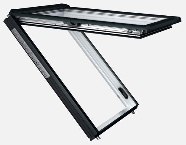Roto Designo RotoComfort i8 PVC - Top-Hung Electric Roof Window