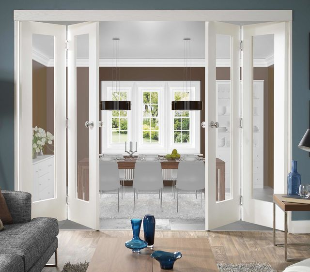 Freefold White Int. Door Frame System - XL Doors