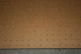 pegboard 8x4 sheet. Black Bedroom Furniture Sets. Home Design Ideas