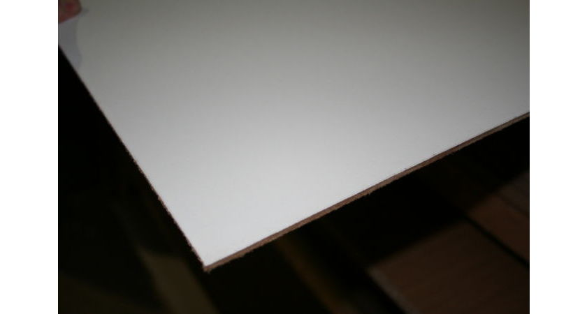 White Hdf Hardboard